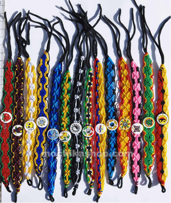 100 Peru Wholesale Braided Friendship Hand Woven Bracelets