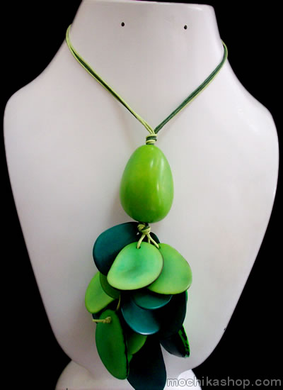 Bunch Design Peruvian Tagua Necklaces