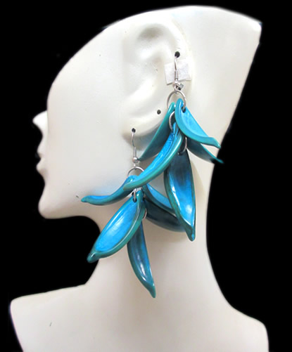 Whole Color Raceme Palmito Earrings