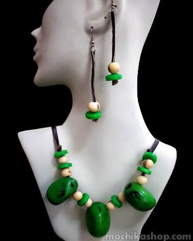 Classic Assorted Tagua Sets Necklaces