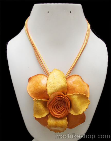 Orange Peel Necklaces