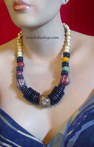 Coconut Seed Beads Necklaces