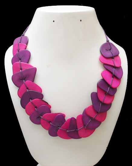 Chokers Design Peruvian Tagua Chips Necklaces