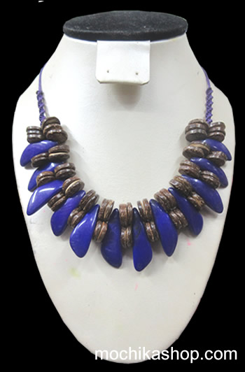12 Pretty Wholesale Necklaces Handmade Peak Tagua Seeds and Coconut