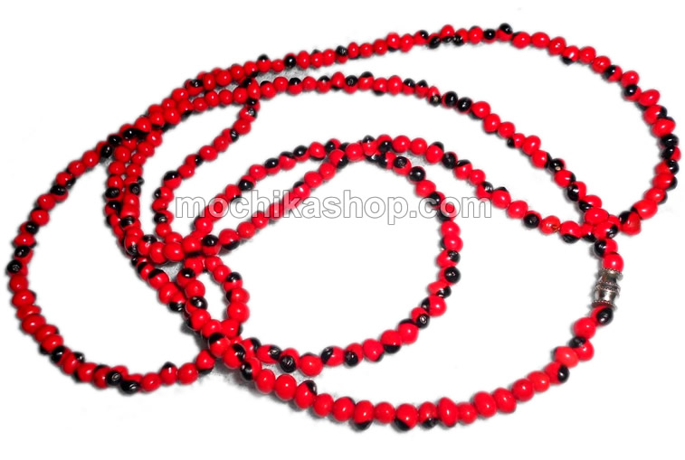 Huayruro Baby Seed Beads Necklaces