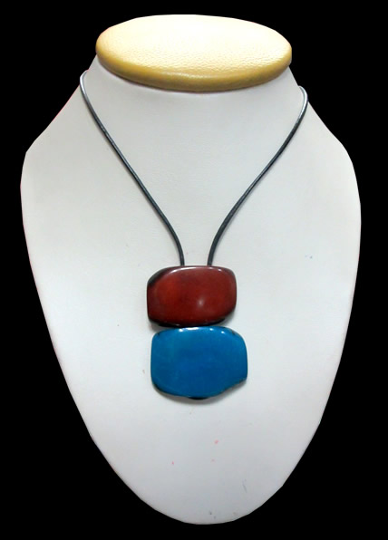 Flat Seeds Simple Peruvian Tagua Necklace