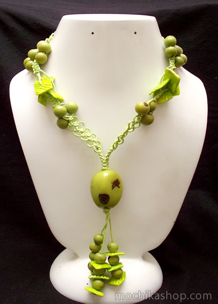 Classic Design Peruvian Tagua Beads Necklaces