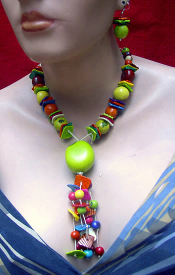 Bombona Seeds Tagua Beads Sets Necklaces