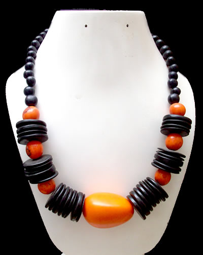 Brazilian Coconut Tagua Bead Necklaces