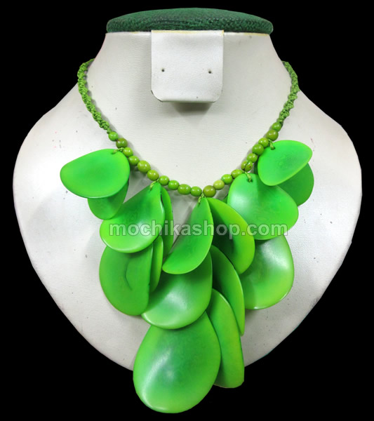 Tagua Chips Necklaces Choker Design