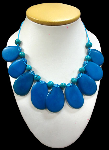 06 Wholesale Peruvian Tagua Necklaces Mixed Colors