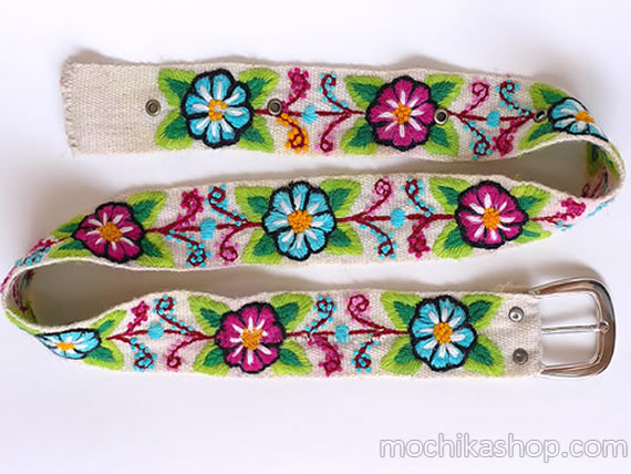 Ayacucho Embroidered Belts