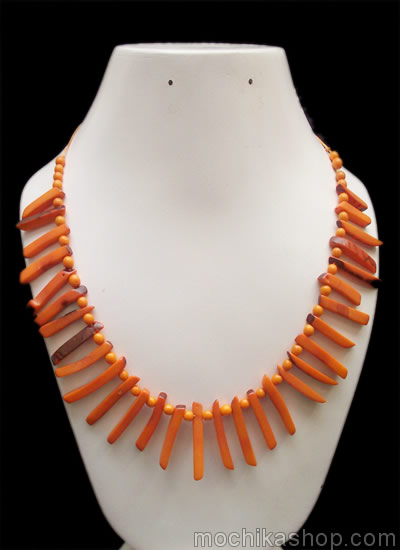Small Sticks Peruvian Tagua Necklaces