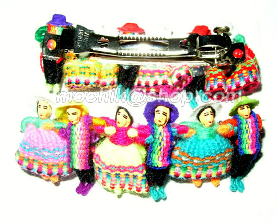 Peruvian Hair Clips Barretes