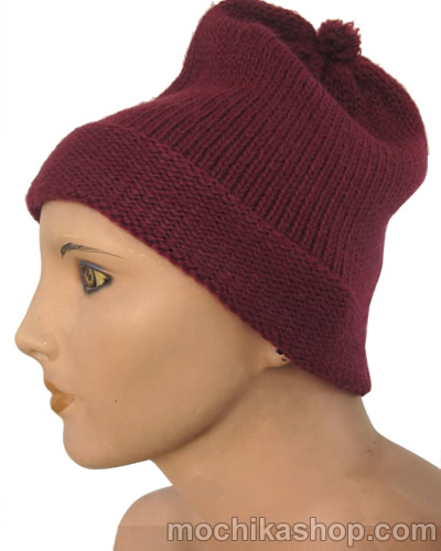 50 Wholesale Peruvian Hats Whole Color Handmade Alpaca Wool