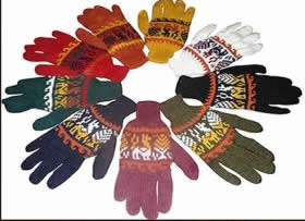 Multicolor Standard Peruvian Gloves