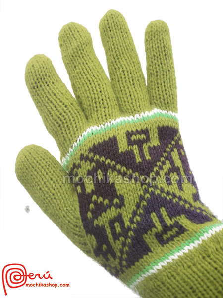 Multicolor Reversibles Peruvian Gloves