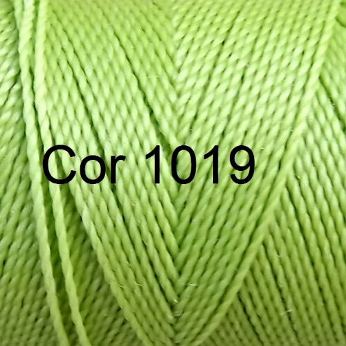 Linhasita Green Lime Color - Waxed Thread Cone , Spools 100% Polyester Cord