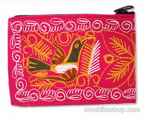 06 Beautiful Peru Embroidered Coin Purses Design Colca Canyon