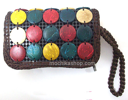 Coconut Shell Coin Purse