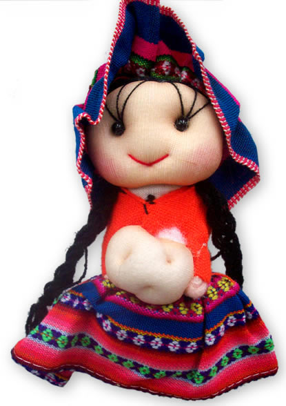 12 Wholesale Medium Size Peru Andean Dolls Handmade Cusco Manta