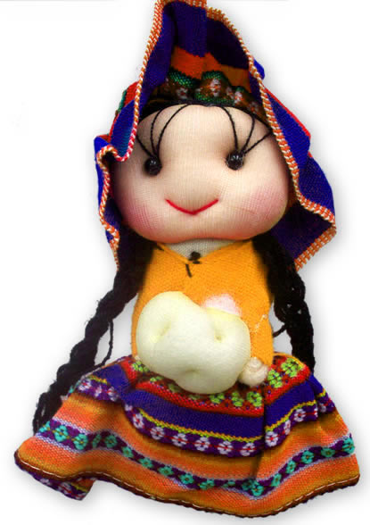 Cusco Medium Size Andean Dolls
