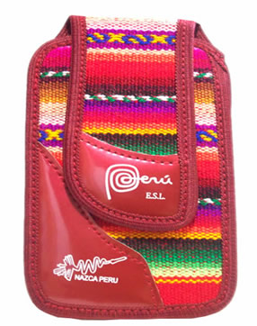 Cusco Blanket Fabric Cell Phone Pouch