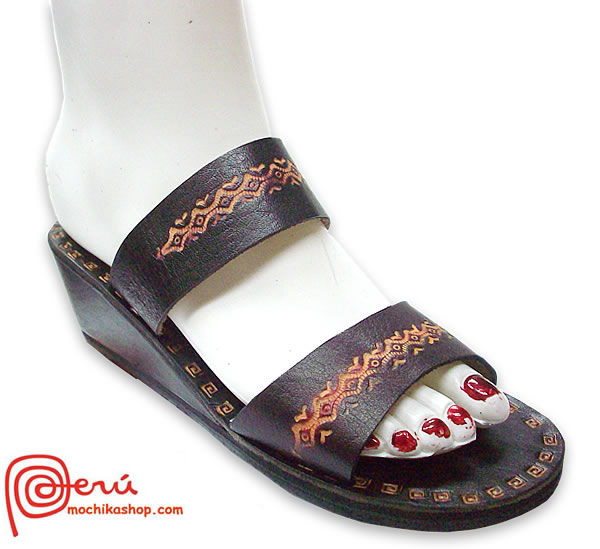 Pretty Beautiful Peruvian Leather Sandals Franciscan Model 02