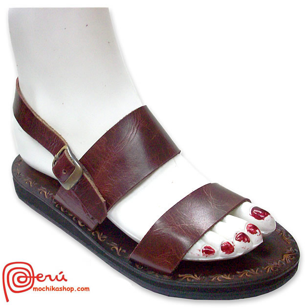 Gorgeous Peruvian Leather Sandals Franciscan Design Model 04