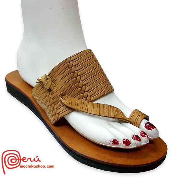 Amazing Leather Sandal Ethnic Design Model 06
