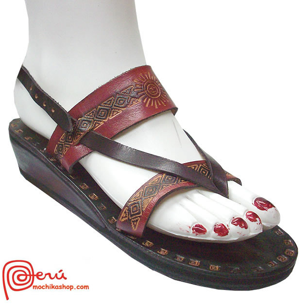 Beautiful Leather Sandal Ethnic Design Model 02