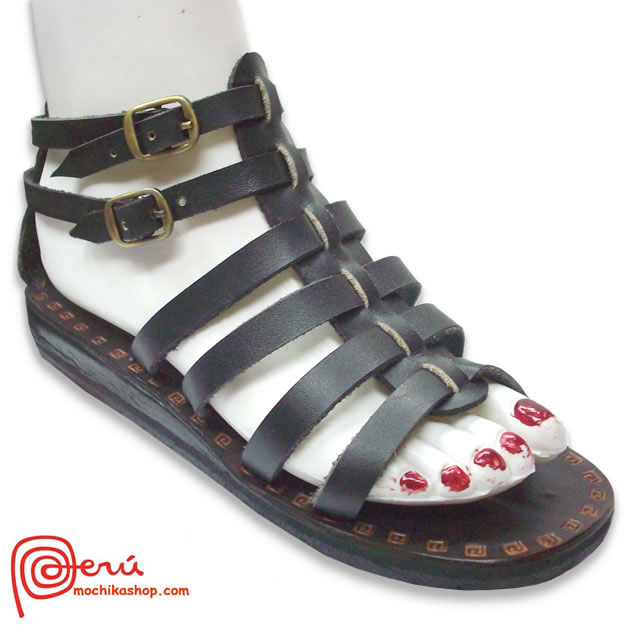 Roman Design Peruvian Sandals