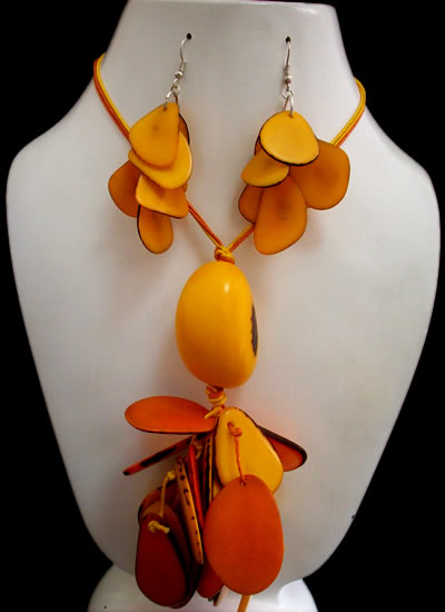 12 Nice Wholesale Tagua Chips Sets Necklaces Bunch Design