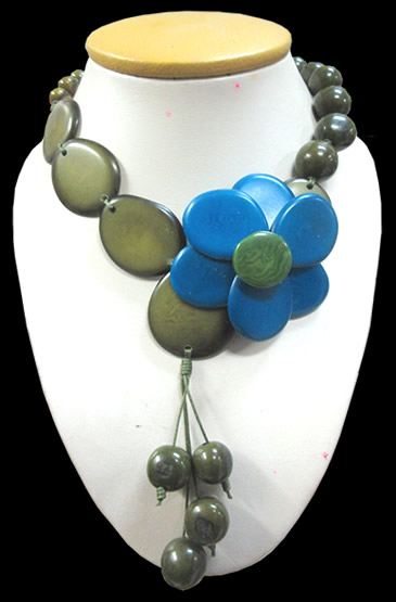 Tagua Necklaces Assorted Models