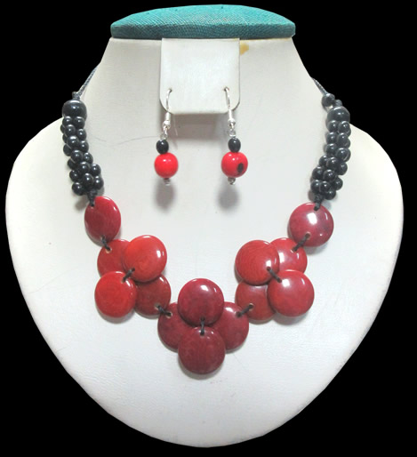 Tagua Set Necklaces Mixed Models