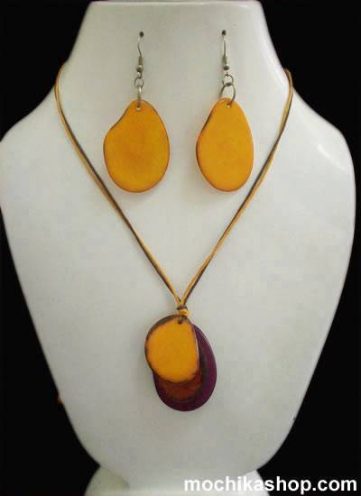 50 Pretty Wholesale Tagua Sets Necklaces Simple Design