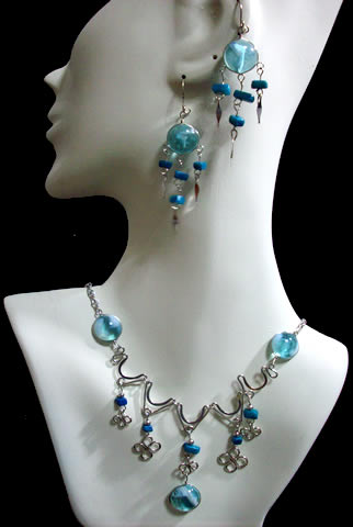 Murano Glass Sets Necklaces