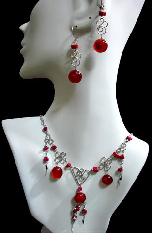 50 Wholesale Murano Glass Sets Necklaces & Earrings Handmade