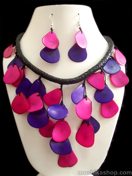 Tagua Chips Sets Necklaces