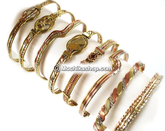 08 Wholesale Inca Handamde 03 Metals Bracelets