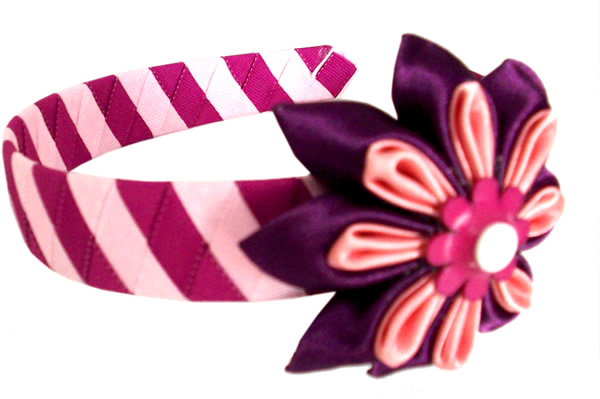 Peruvian Satin Ribbon HairBand