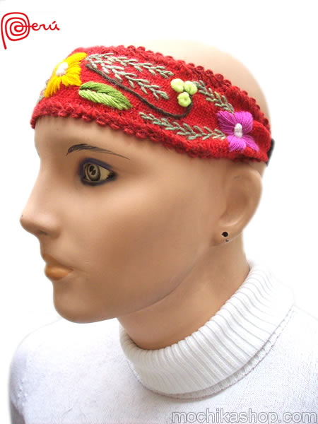 Peruvian Embroidered Headbands
