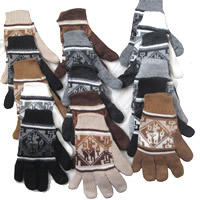 Natural Color Peruvian Gloves